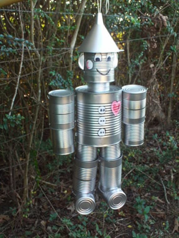 items similar to hand crafted original tin can man the