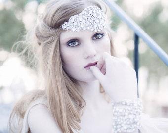 Crystal headpiece- Adore