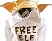Serving Elf Inspired Customizable Adult Hooded Sweatshirt Free Elf