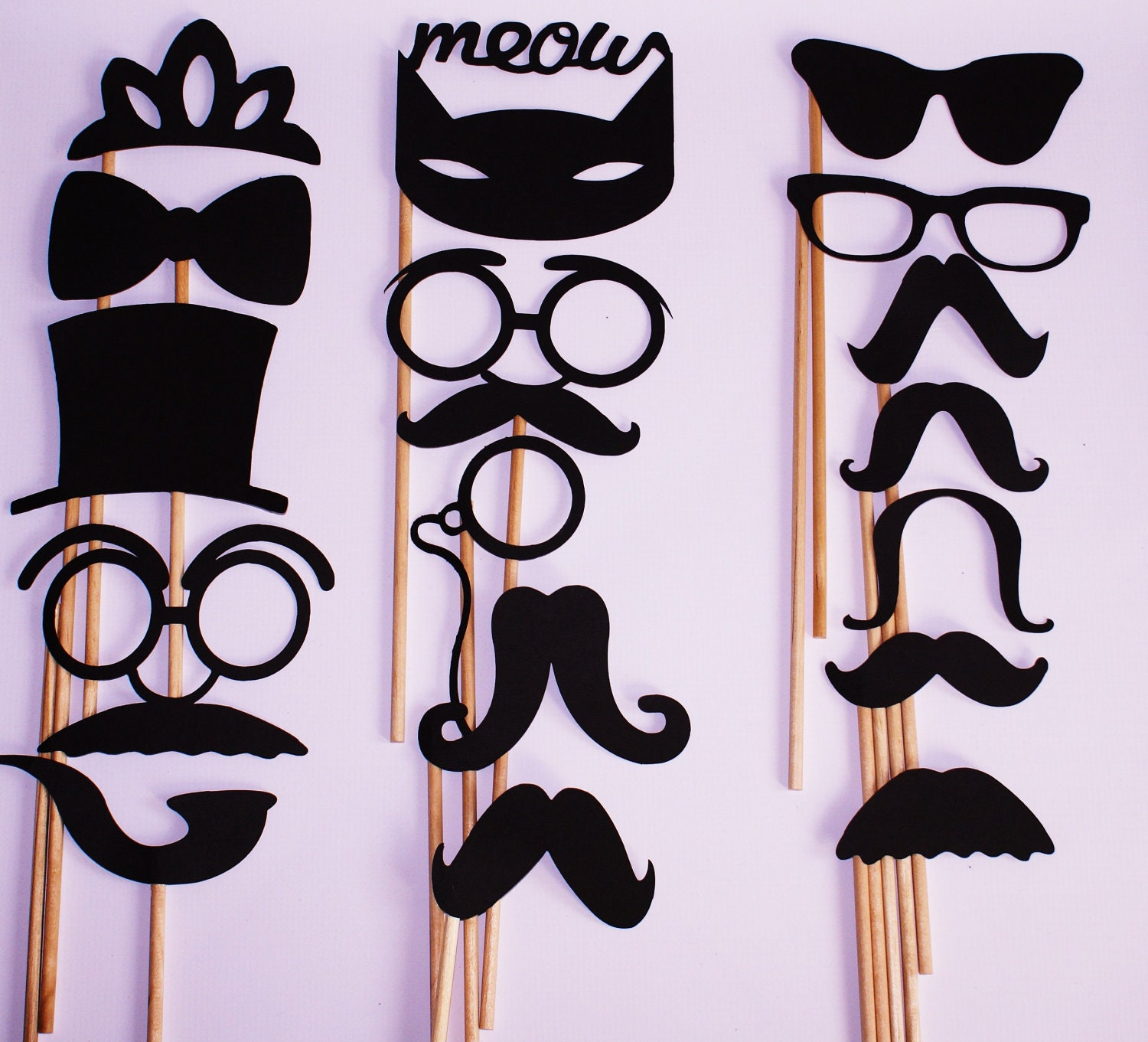Wedding Photo Props Ideas: Photo Booth Props / Wedding Photo Booth Prop / By NYEngravings