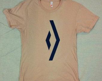 Diamond T-shirt - Screen-print on American Apparel