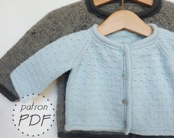 Long Gilet Knitting Pattern : Popular items for tricot on Etsy
