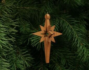 Star 3-D Christmas Ornament - Star Ornament, Christmas Star, Star of Bethlehem