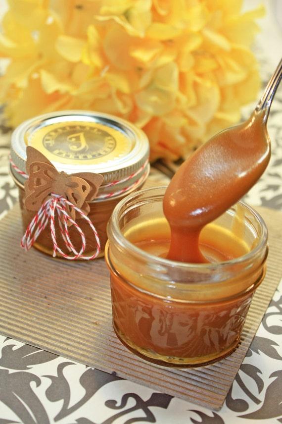 Fleur De Sel Caramel Sauce, Gourmet Caramel Sauce - 3 (4 oz.) jar