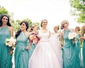 Blush Bridal Belt: Pink Pearl Wedding Sash, Pink, Cream, Champagne