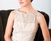 Bridal Rhinestone Headband Silver Old Hollywood Glamour