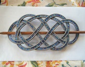 Baby's Got the Blues guitar string barrette Large