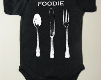 baby clothes - baby gift - baby girl - baby boy - baby shower - infant girl - infant boy - foodie one piece - baby foodie - FOODIE-one piece