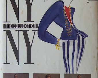 Jacket (Unlined), Top, Skirt & Pants - Misses - McCall's New York Collection - 4730 Pattern - UNCUT