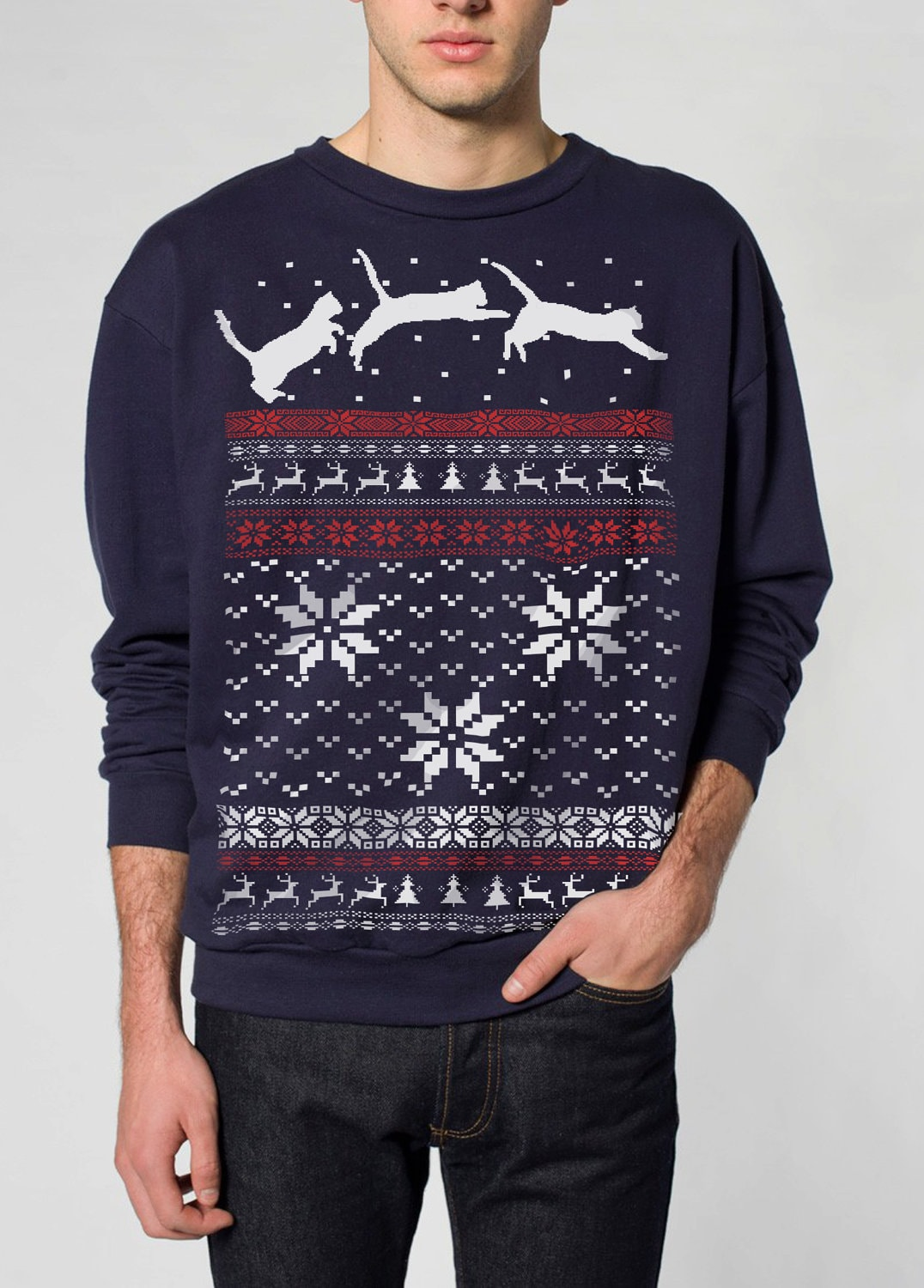 Christmas sweaters for cats