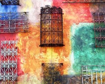 8x10 Fine Art Photograph-Metallic Print-Colorful Wall