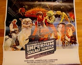 """ON SALE Star Wars, German Edition Hard to Find folded Poster """"The Empire Strikes Back"""" (Original 20th Century Fox)"""