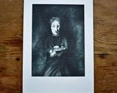 Print - Mrs & Owl