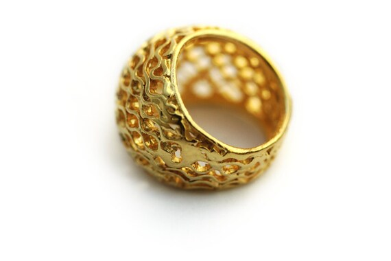 statement ring for bee ring modern jewelry design