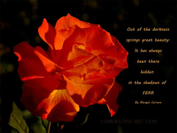 Orange Rose Print, Photography, Art and Collectibles, Wall Art, Unique Gift, Inspirational Gift,