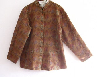 Gypsy Tribal Tapestry  Jacket. cotton brocade Jacket