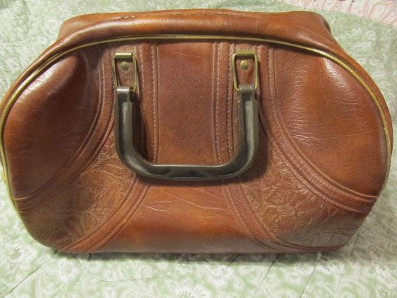 RESERVED for SANDRA Vintage Weekender or Doctor Bag - Gifts for Him, Luggage, Travel