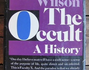 FIRST EDITION The Occult: A History by Colin Wilson 1971 (Hardcover)