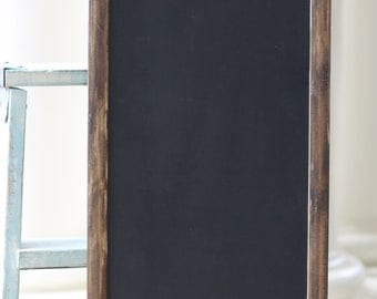 Wedding Chalkboard Sign Rustic Distressed Shabby Chic Menu Message Board Paper Rose