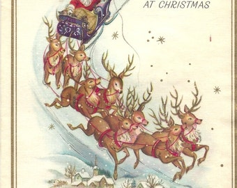 Collection of 25 Vintage Christmas and New Year Cards and Some Envelopes