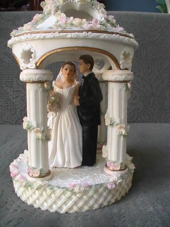 Etsy Wedding Cake Decorations : Wedding Gazebo Cake topper or wedding decor