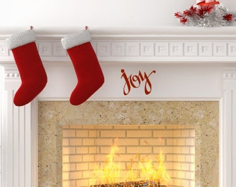Joy. The perfect little Christmas Vinyl Decal.