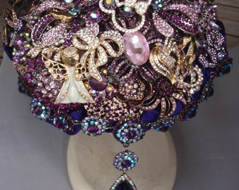 Brooch Bouquet with Disney Theme