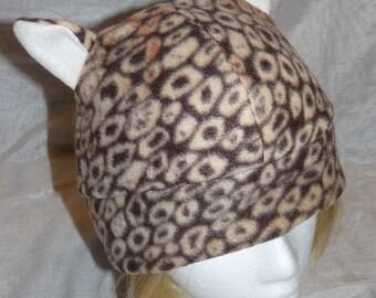 Leopard Kitty Cat Hat