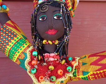 Oya - African Goddess of Change, Encouragement and Powerful Mind and Strong Memory