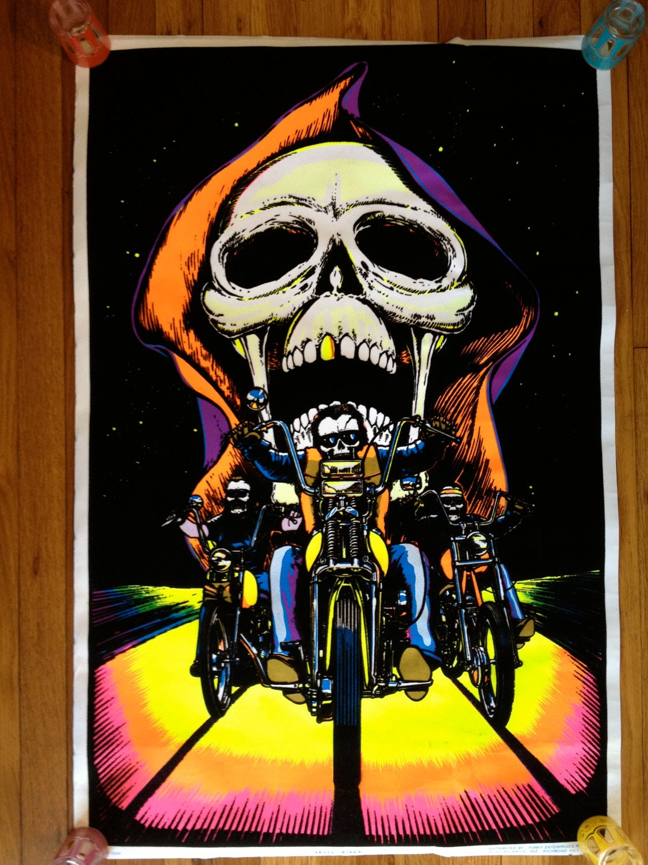 Skull Rider 1984 Flocked Original Vintage by takiniteazy ...