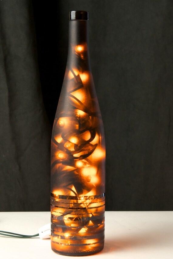Striped Bottle Set of 2
