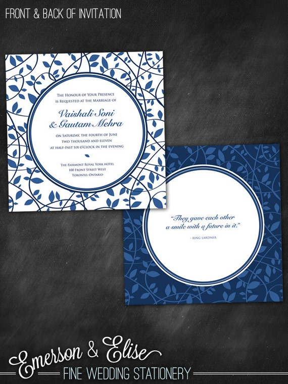 Items similar to blue and white wedgwood china wedding for Chinese wedding invitations etsy