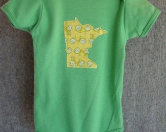 bike onesie or tee, custom state, baby onesie, toddler tee, minnesota wisconsin oregon washington california new york