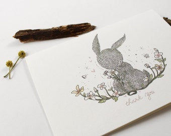 Thank You, Rabbit - 10 Greeting Cards