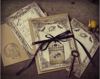 Victorian Deaths - Elegant Note Card Set with Envelopes
