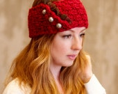 Betsy - Knitting PATTERN ONLY - Earwarmer