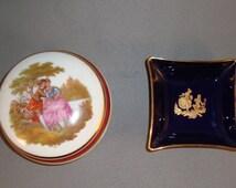 LIMOGES Porcelain Dresser Box  - Collectibles [Drw]