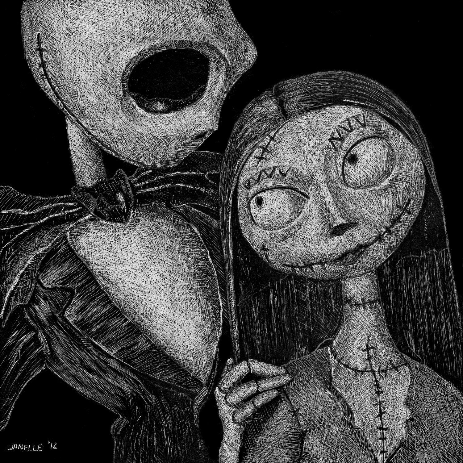 64 entries in Jack And Sally Wallpapers group