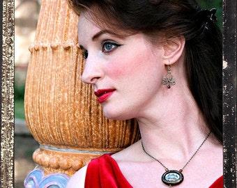 Garnier Paris Opera House Art Necklace Earrings Home of Phantom of the Opera One of a Kind Jewelry