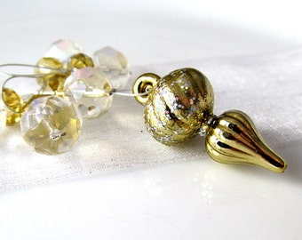 LAST SETS - Silver and Gold - Five Snag Free Stitch Markers - 6.0 mm (10 US) - Limited Edition