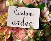 Custom Made to order Shannon Nona 70 invitations Hawaiian floral flip flop cards birthday party