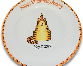 Tigger Inspired 1st Birthday Signature Platter