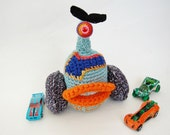 Art Doll Gift for Men Crochet Monster Amigurumi - Blinky