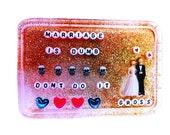 Sticker: Marriage is Dumb. Don't Do It - Gross, Laptop Stickers, Cute Stickers, Cool Stickers, Party Favors