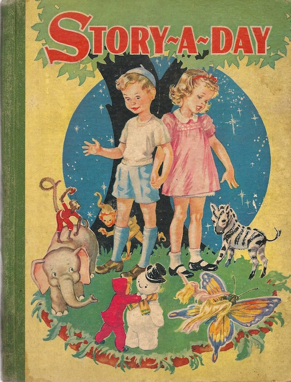 VINTAGE KIDS BOOK Story-A-Day