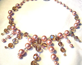 Luminous Pearls Necklace by Diana