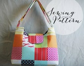 INSTANT DOWNLOAD - Messenger Bag Sewing Pattern - PDF by Jenna Lou Designs