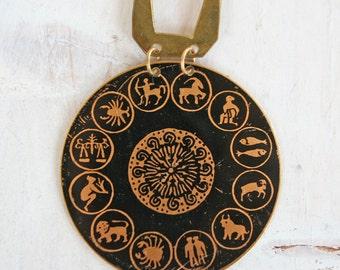 12 Zodiac Medallion / WItchy / Necklace