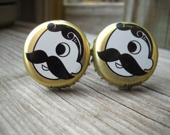 Natty Boh Baltimore Beer Bottle Cap Cufflinks Wedding
