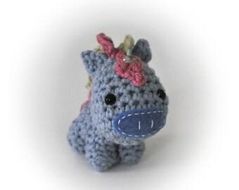 Crocheted Unicorn Pattern PDF